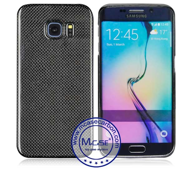Samsung Galaxy S6 Edge Carbon Fiber Case