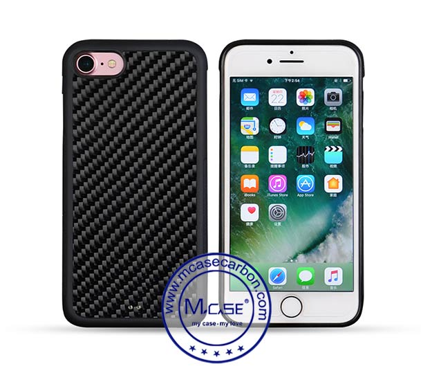 Carbon Fiber PC TPU Case For iPhone 7