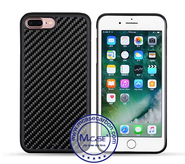 Carbon Fiber PC TPU Case For iPhone 7 Plus