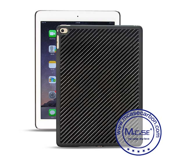 iPad Air 2 Carbon Fiber Plastic Tablet Case