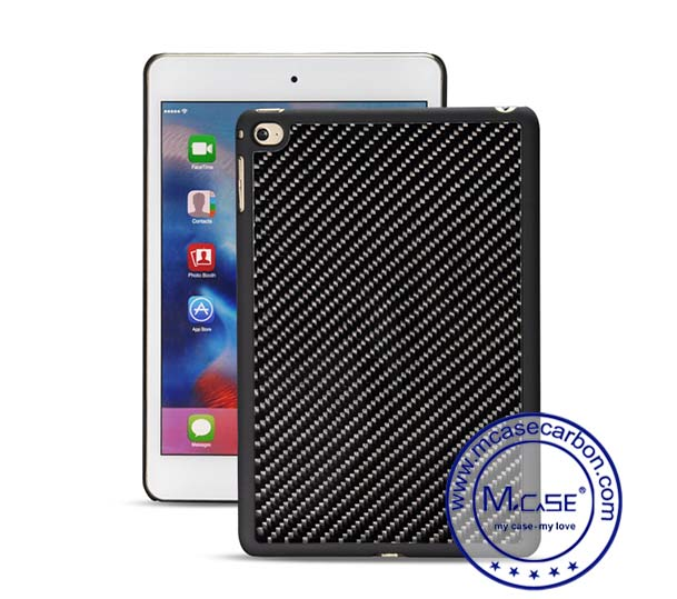 iPad mini 4 Carbon Fiber Plastic Tablet Case