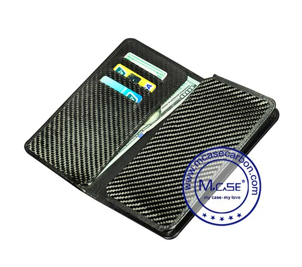 Carbon Fiber Phone Wallets