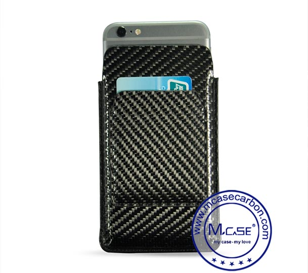 Carbon Fiber Phone Cards Sleeves