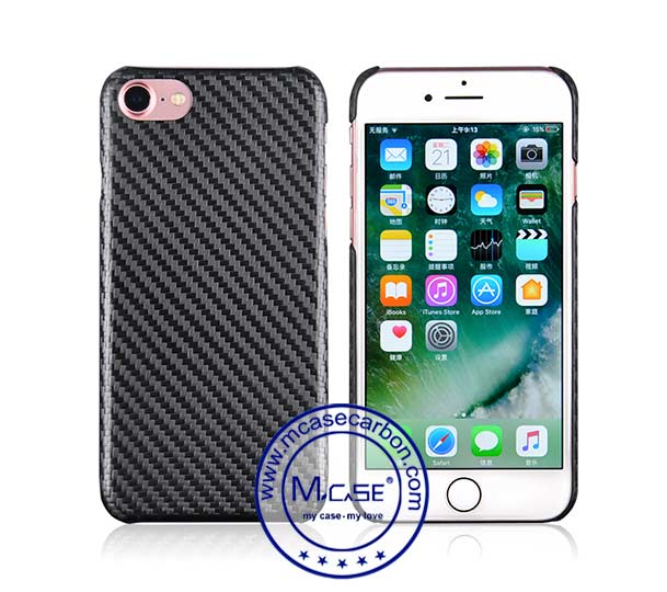 Twill Textured Feel Carbon Fiber Case