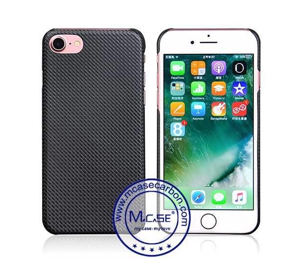 Plain Textured Feel Carbon Fiber Case
