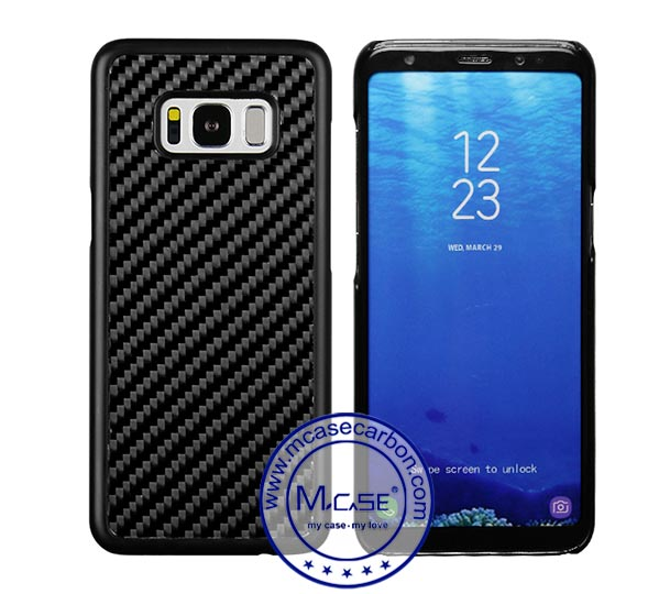 Samsung S8 Carbon Fiber PC Case