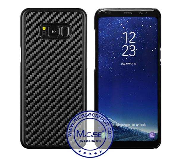 Carbon Fiber PC Case for Samsung Galaxy s8 Plus