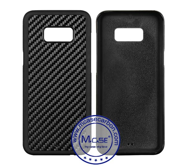 Carbon Fiber PC TPU Case For Samsung Galaxy s8 Plus