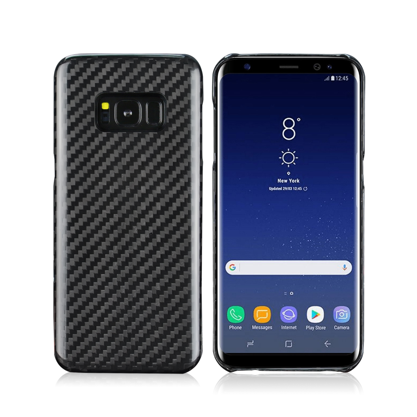Samsung Galaxy S8 Plus Carbon Fiber Case
