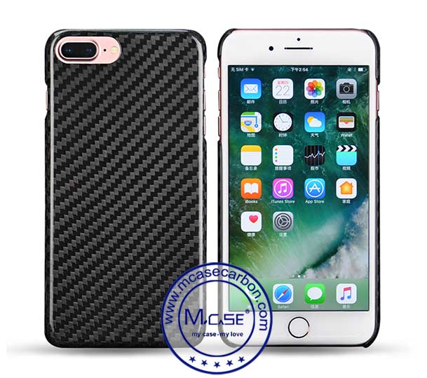 iPhone 8 Plus Carbon Fiber Case