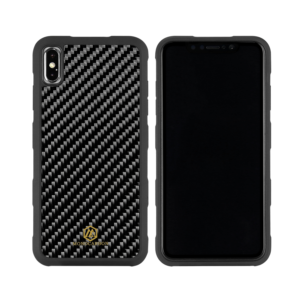 2018 Newest Anti Shock Carbon Fiber Case for iPhone xs max