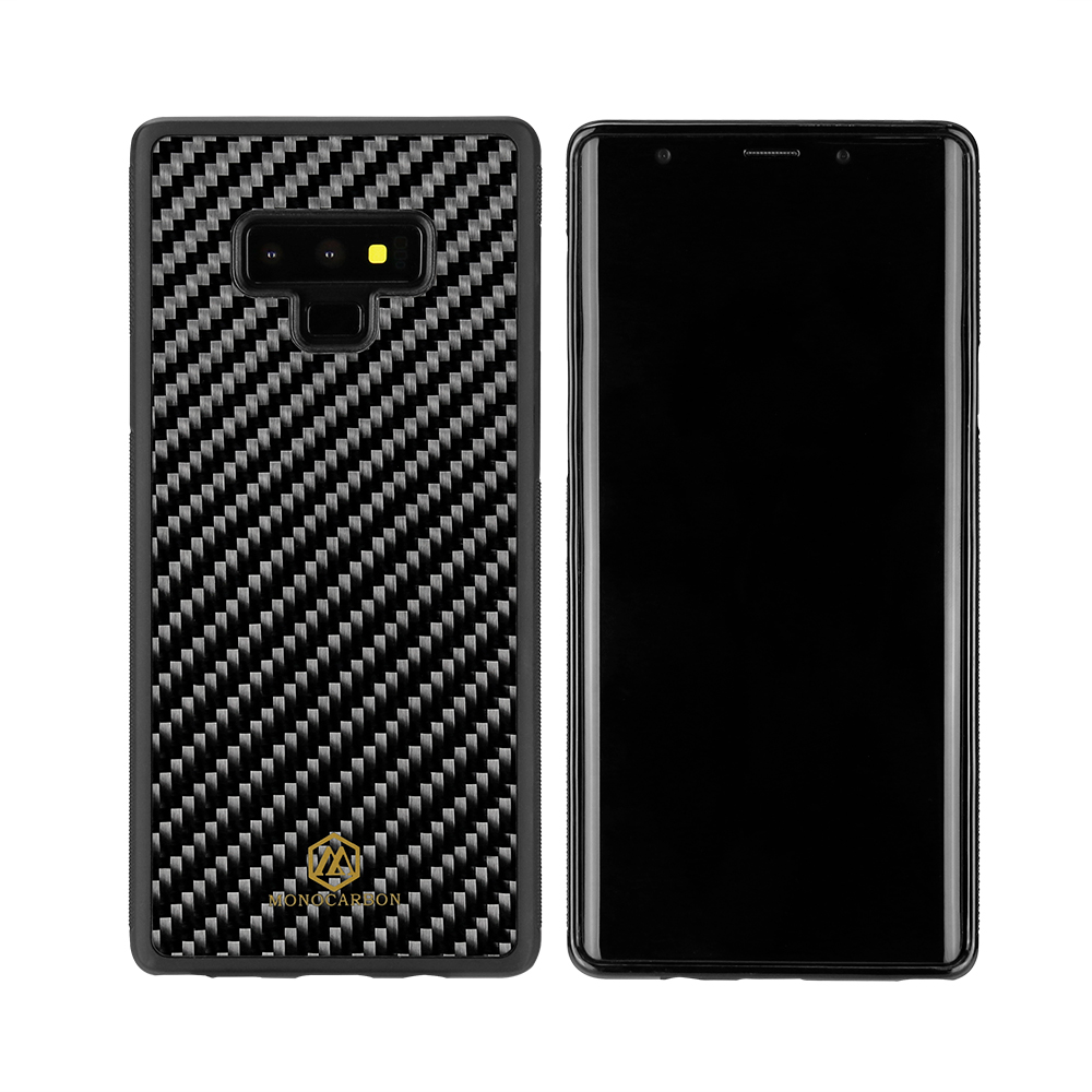 Fashionable Anti Side Carbon Fiber Case For Samsung Note 9