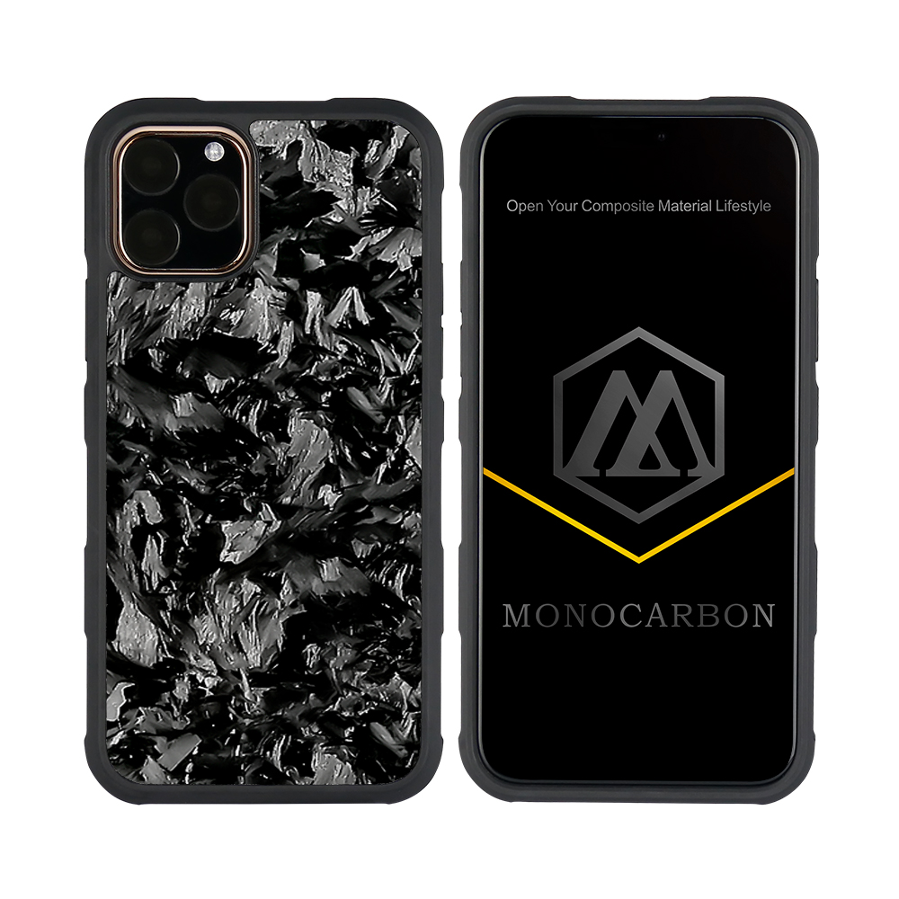 Durable Forged Carbon Fiber Anti Shock Case for iPhone 11 pro